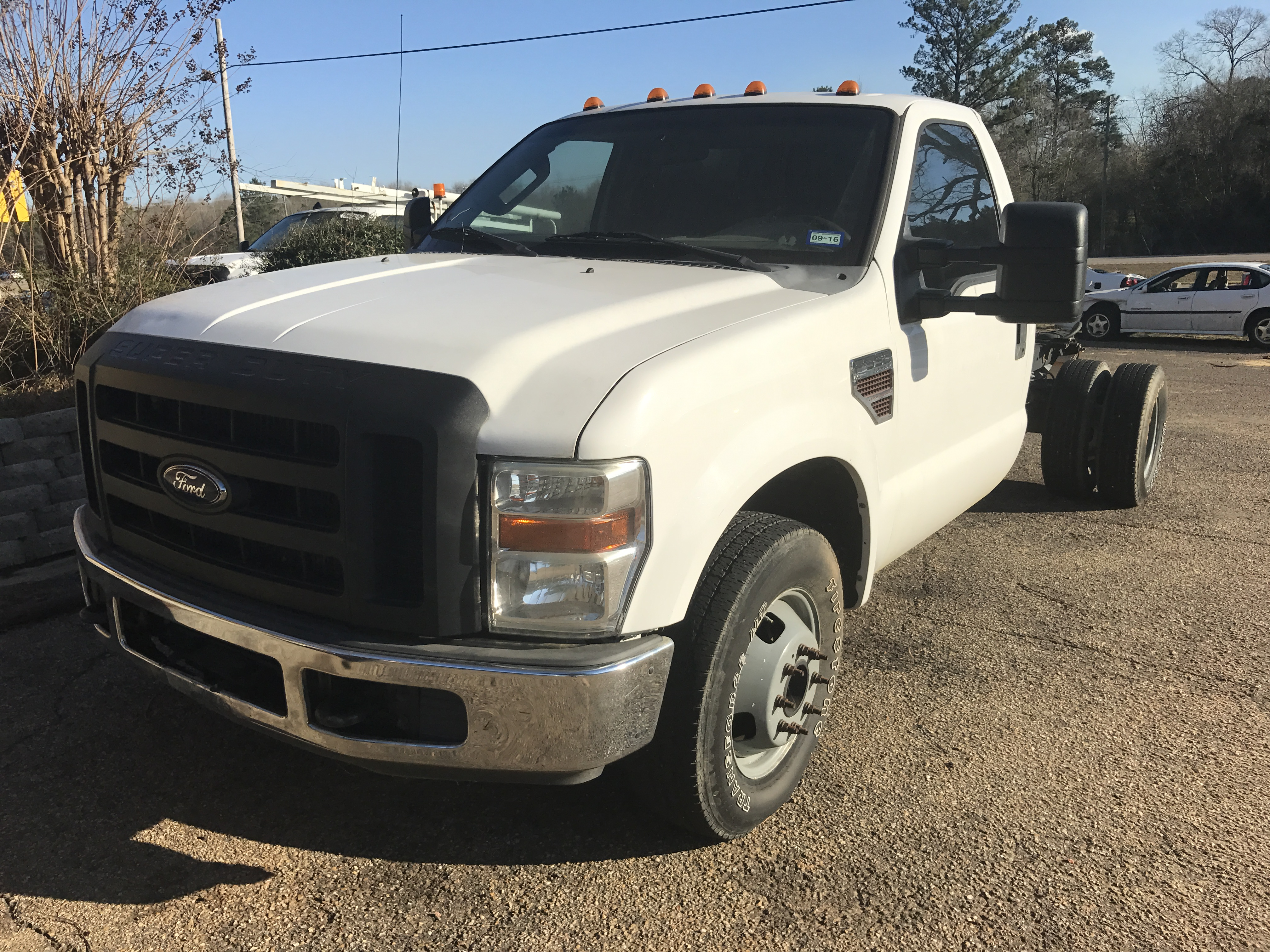 2009 FORD F350 SUPER DUTY DRW C/C | Lamar Auto Salvage Inc.